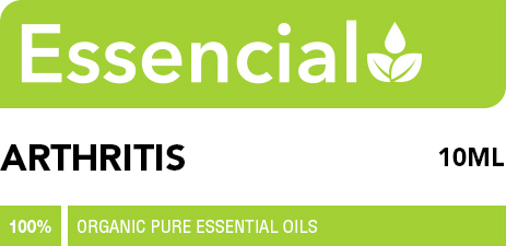 Arthritis essential oil