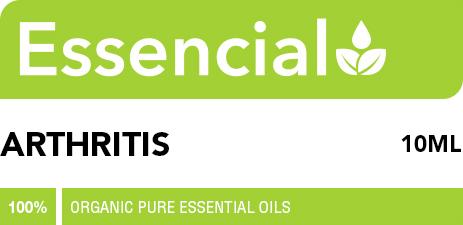 Arthritis essential oil