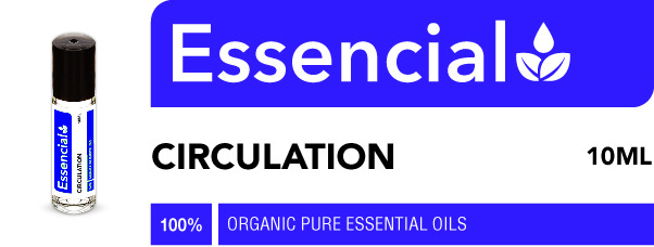 circulation essential oil