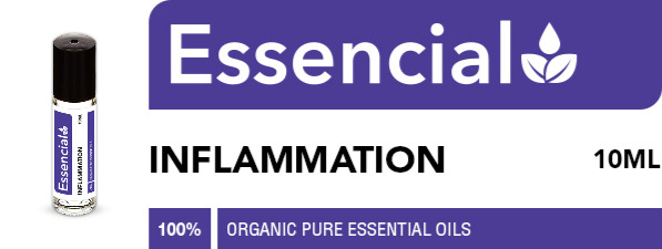 Inflammation organic essential oil